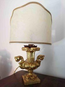Base Lampada con Paralume